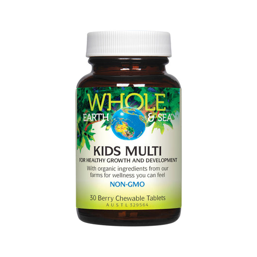 Kids' Wholefood Bio-Available Chewable Multivitamin 30 Tablets