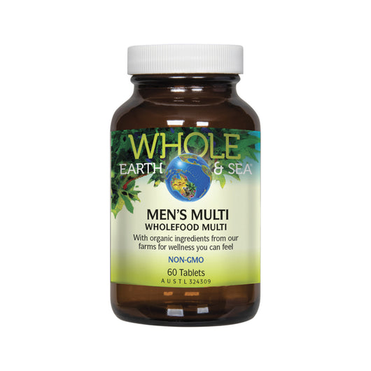 Men's Wholefood Bio-Available Multivitamin 60 Tablets