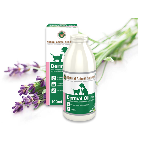 Natural Animal Solutions - Dermal Oil (100mL) - The Healthy Household