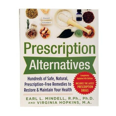 Book - Prescription Alternatives by Earl Mindell & Virginia Hopkins - The Healthy Household