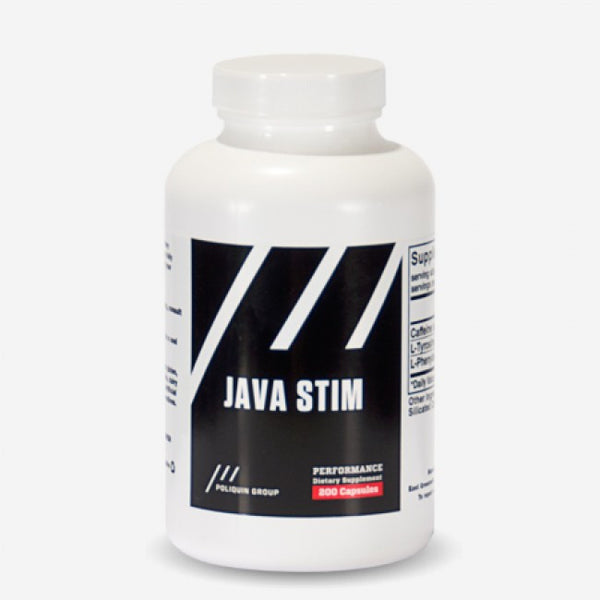 Java Stim - Special Caffeine Formula (200 capsules) *ON SALE* - The Healthy Household