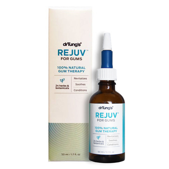 Dr Tung's REJUV™  For Gums - Gingivitis Support, Ancient Ayurvedic Formula 50mL *NEW! PRE-ORDER, IN STOCK SOON*