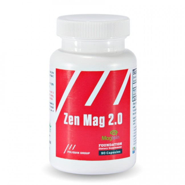 Poliquin Zen Mag 2.0 (90 capsules) EFFECTIVE SLEEP SUPPORT - The Healthy Household