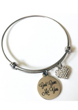 God Gave Me You Charm Bracelet