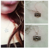 Sterling Silver Photography Inspired Necklace