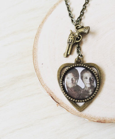 Daryl & Carol Inspired TWD Necklace