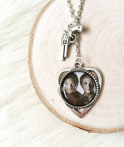 Daryl & Carol Inspired TWD Silver Necklace