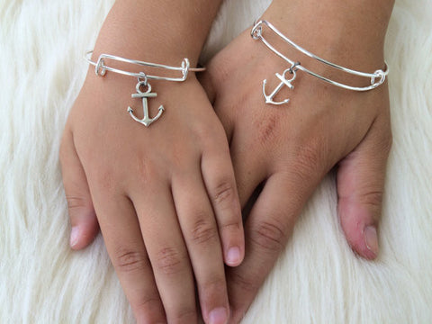 Anchor Mommy and Me Bangles