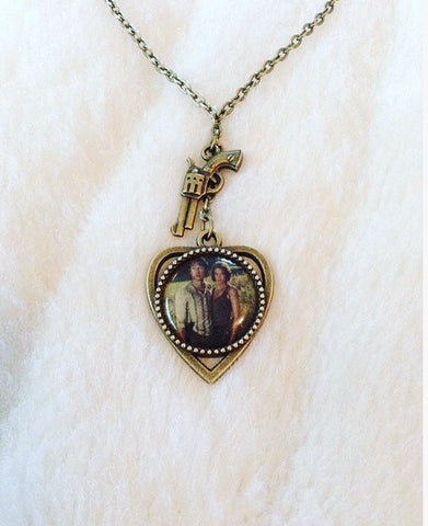 Maggie & Glenn Inspired TWD Necklace