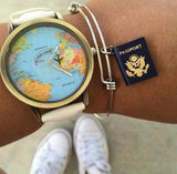 You Choose Bangle Color - Passport Bracelet