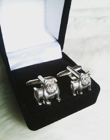 USMC Bulldog Cufflinks