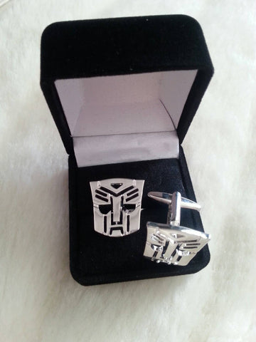 Transformers Cufflinks - Gift Box Included