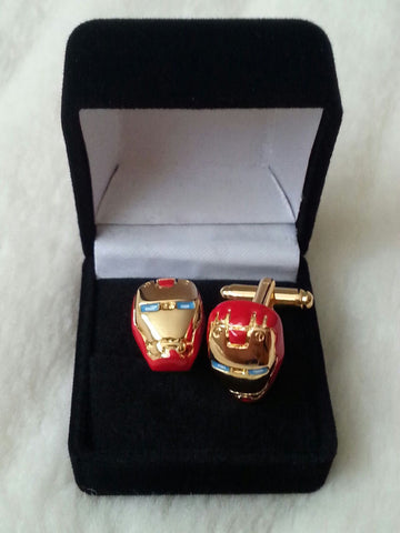 Ironman Cufflinks Set