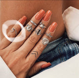 Wave Midi Ring - .925 Sterling Silver
