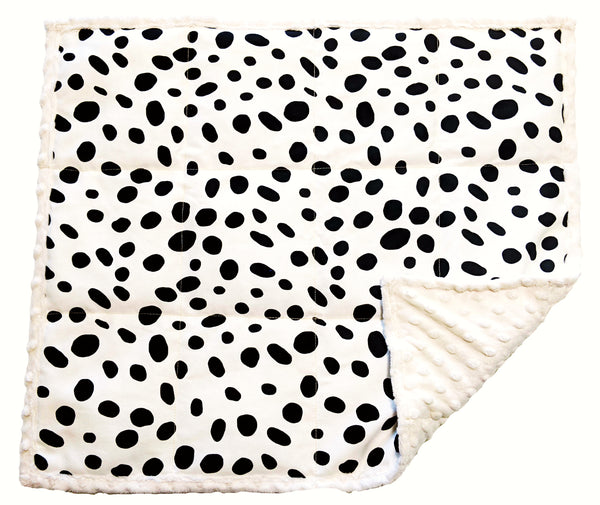 Weighted Lap Pad For Kids | Lap Blanket For Toddlers | 3 lbs Snow Leopard