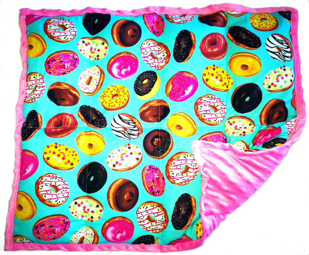 "Weighted Lap Pads by ReachTherapy Solutions - 5 lbs & 21"" x 18"" Doughnuts"