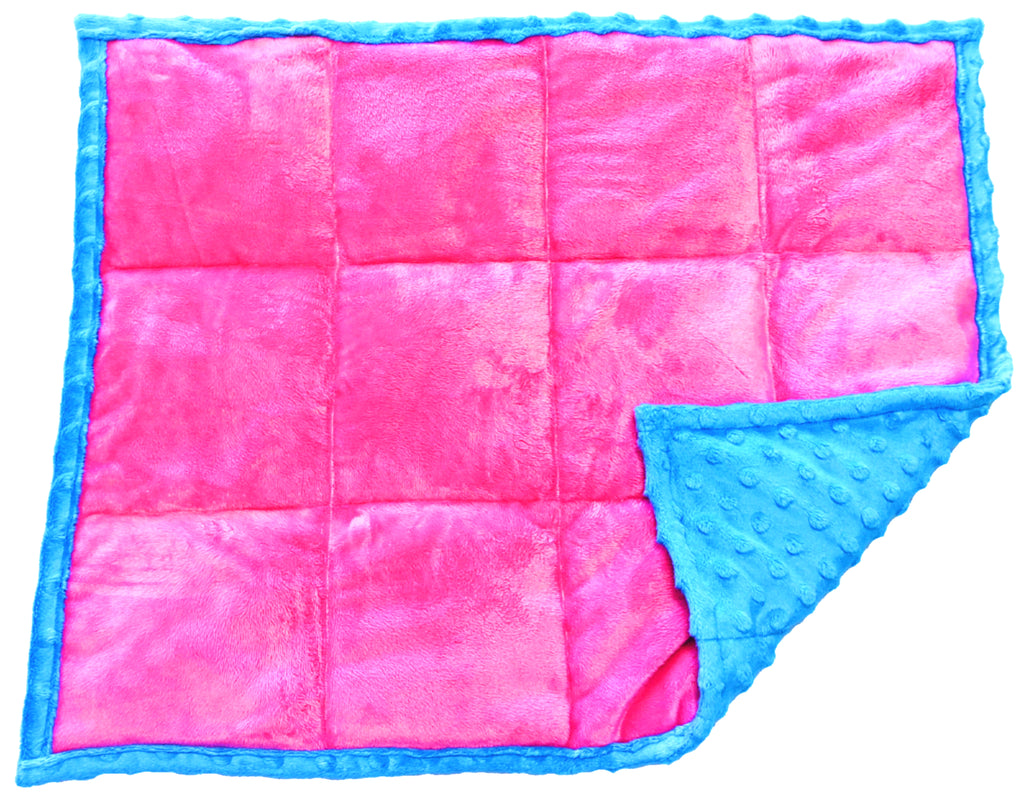 Weighted Lap Pad For Adults & Kids | 7 lbs Lap Blanket | Tickled Pink