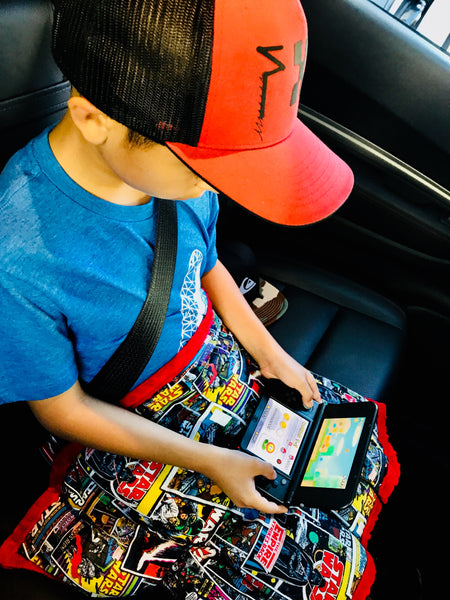 Weighted Lap Pad For Kids - Portable For Car Trips by ReachTherapy Solutions | 5 lbs The Empire Takes A Nap