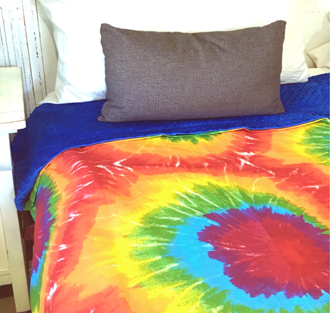 "Weighted Blanket For Kids & Adults | 65"" x 45"" 