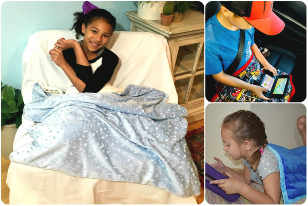 Super Soft & Durable Weighted Blankets For Kids by ReachTherapy Solutions