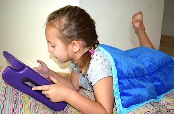 Weighted Lap Pads For Kids by ReachTherapy Solutions