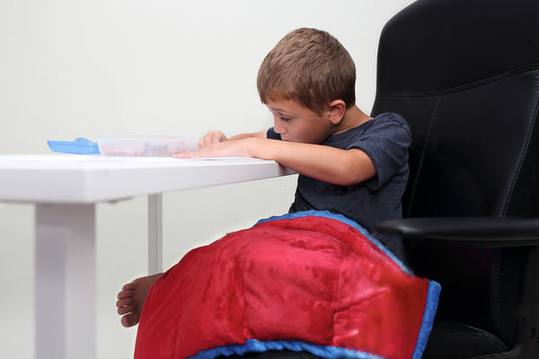 Weighted Lap Pad | Sensory Seating | Lap Blanket | 5 lbs - The Super Hero