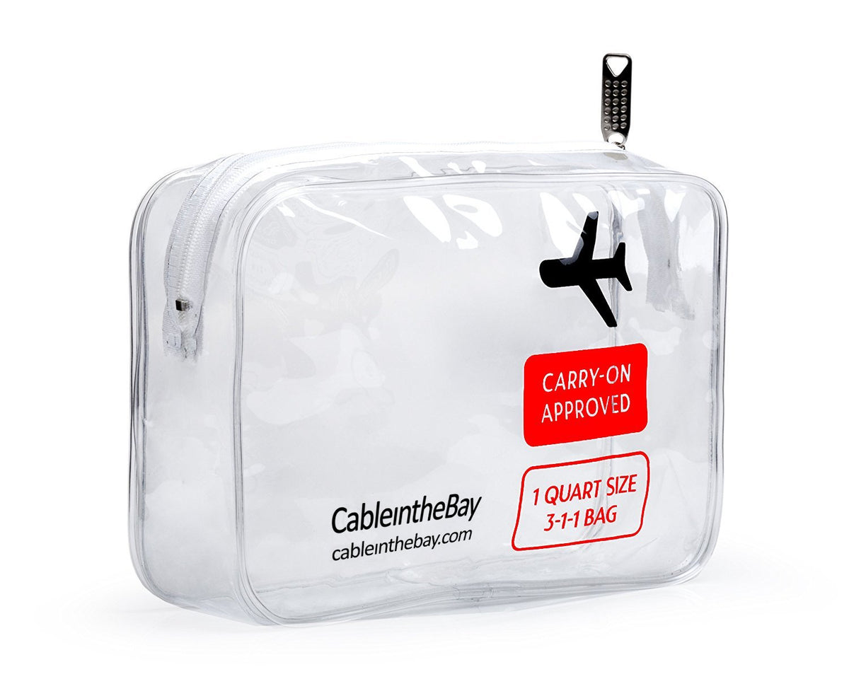 TSA Approved Clear Travel Toiletry Bag