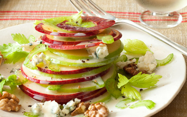Apple salad for lunch or afternoon snack