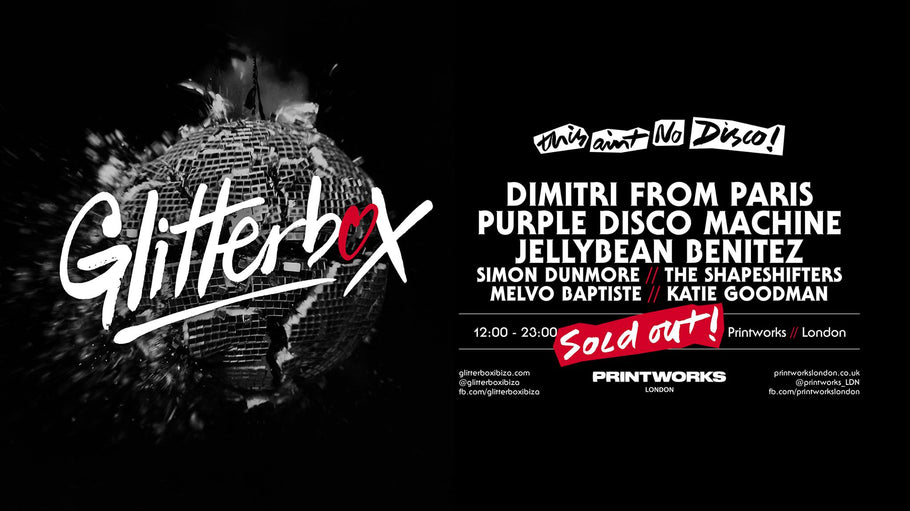 Saturday Feb 23rd Jellybean Benitez in London for Glitterbox at Printworks