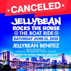 Canceled 6/13 Jellybean Rocks The House - The Boat Ride in NYC