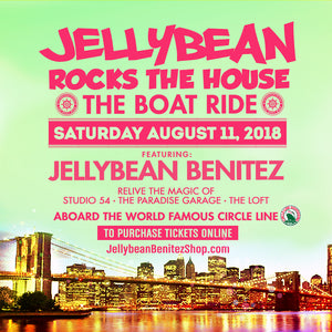 Saturday August 11th - Jellybean Rocks the House ~ The Boat Ride in #NYC - Tickets Now on Sale