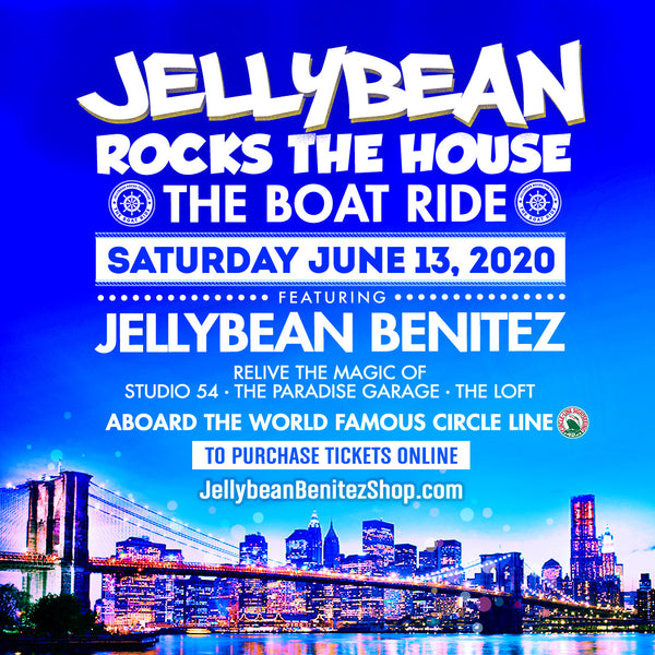 6/13 Jellybean Rocks The House - The Boat Ride in NYC - Advance Tickets Now On Sale