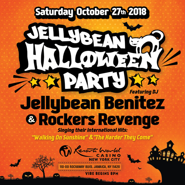 October 27th Jellybean Halloween Party in NYC