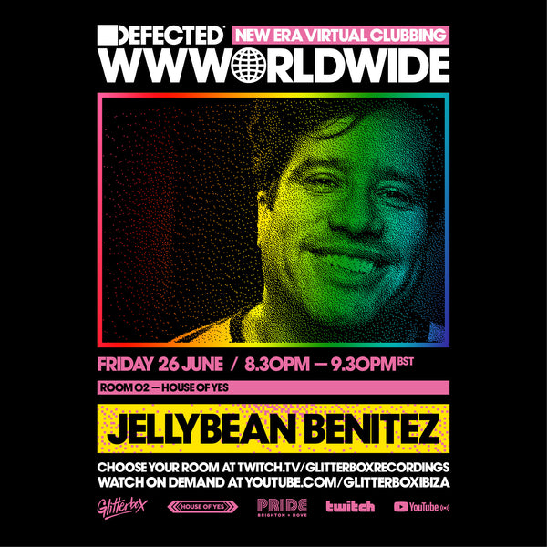 Jellybean Benitez LIVE SET at Glitterbox Pride 2020 at House of Yes - June 26th - In case u missed it ... Here's the Link