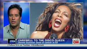 Remembering Donna Summer - CNN's Erin Burnett chats with Jellybean Benitez