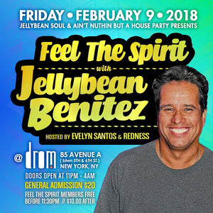 Friday February 9th Jellybean Benitez at Drom in #NYC