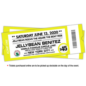6/13 Jellybean Rocks The House The Boat Ride $45