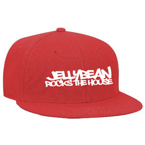 Jellybean Rocks The House Red Baseball Cap