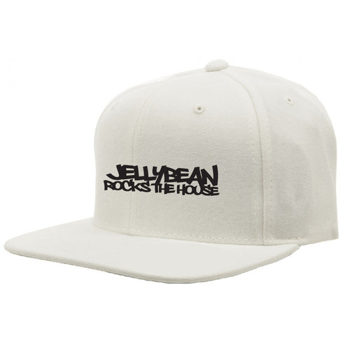 Jellybean Rocks The House White Baseball Cap