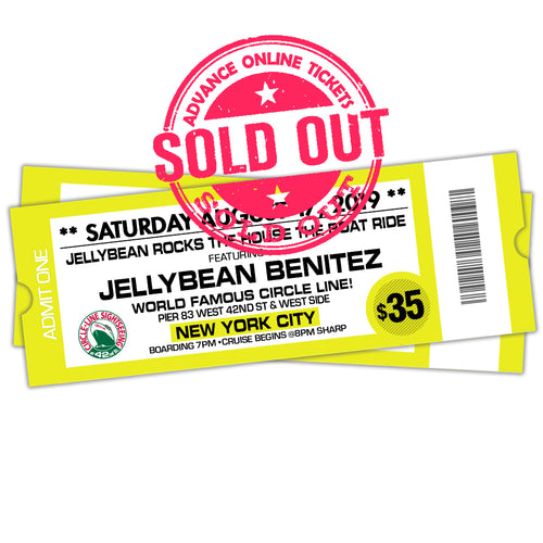 8/17 Jellybean Rocks The House The Boat Ride $35