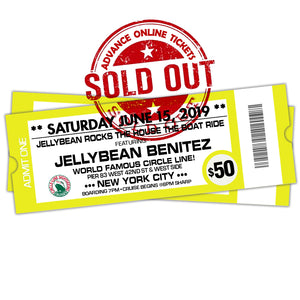 6/15 Jellybean Rocks The House The Boat Ride $50
