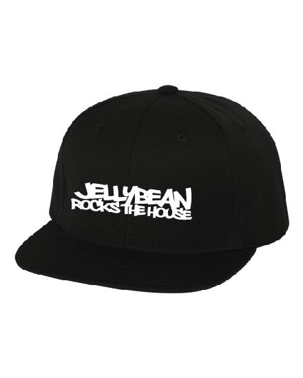 Jellybean Rocks The House Black Baseball Cap