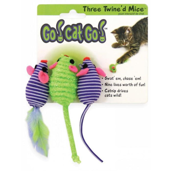 Three Twine'd Mice