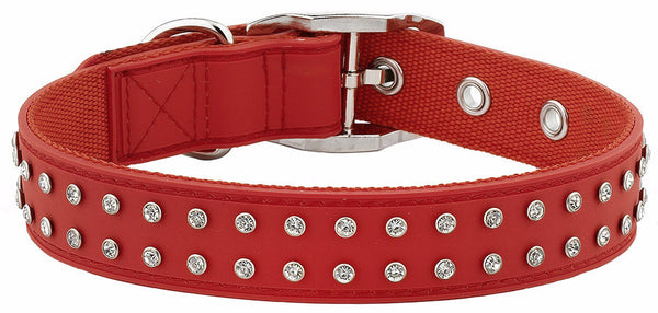 Bling Red Collar