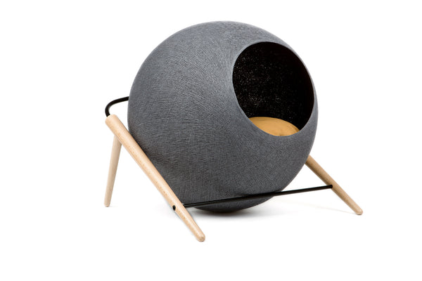 Meyou Ball Bed - from Paris - Charcoal