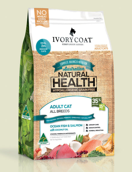 Ivory Coat Adult Cat Ocean Fish & Salmon 3kg