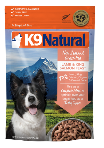 K9 Natural Freeze Dried Lamb & King Salmon Feast