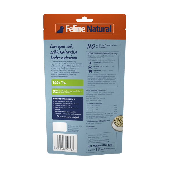 Feline Natural - Lamb Green Tripe Booster