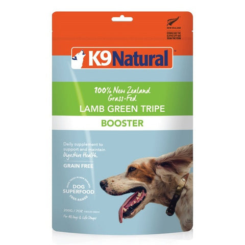 Probiotic Booster K9 Natural Lamb Green Tripe