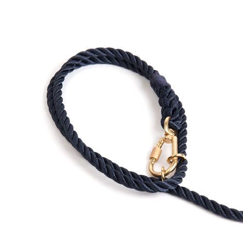 FoundMyAnimal Brooklyn NY Adjustable Leash Navy